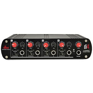 DBX DI4 4-CHANNEL DIRECT BOX