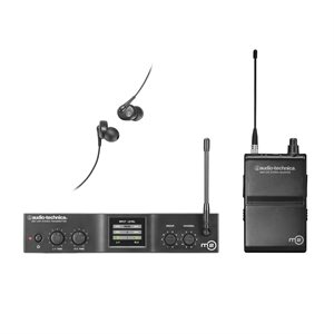 AUDIO TECHNICA WIRELESS M2L AVEC ÉCOUTEUR
