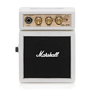 MARSHALL MS-2W MICRO AMP WHITE LTD ED