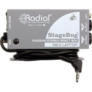 RADIAL STAGEBUG SB-5 LAPTOP