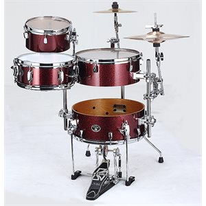 TAMA SILVERSTAR COCKTAIL JAM KIT WITH CYMBAL HOLDER