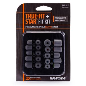 WESTONE EMBOUT POUR IN-EAR WES-62810 20 TIPS