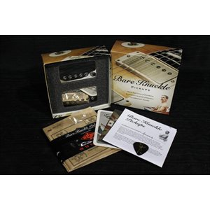 BARE KNUCKLE PICKUPS THE MULE SET 50MM NICKEL 4 CONDUCTORS