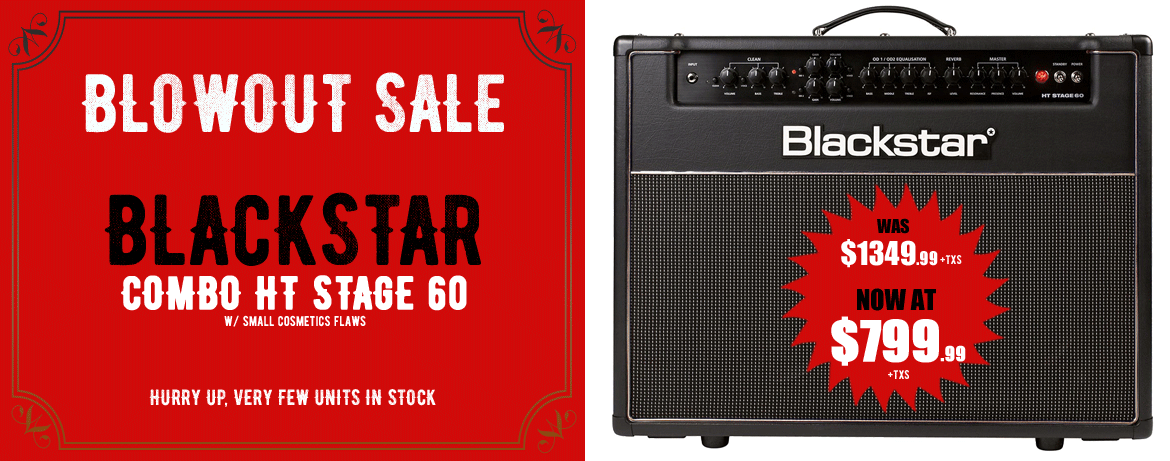 Blowout Sale Blackstar HT Stage 60 Combo
