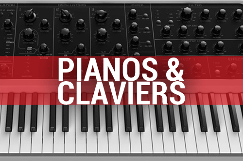 Pianos & claviers