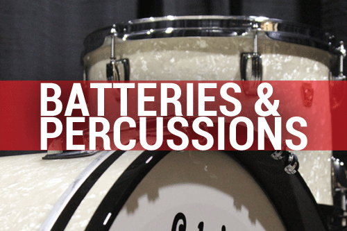 Batteries & percussions
