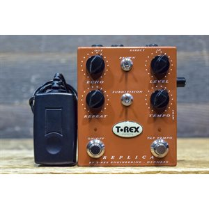 T-REX ENGINEERING REPLICA DELAY DIGITAL TAP TEMPO DELAY AVEC ADAPTATEUR #RP09371