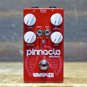 WAMPLER PEDALS PINNACLE DISTORTION BRITISH STYLE W / BOX #1261701032