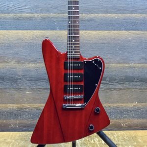 FRET-KING ESPRIT 3 BLUE LABEL LEGACY MAHOGANY SET-NECK CHERRY RED