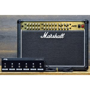 MARSHALL JVM410C AVEC FOOTSWITCH