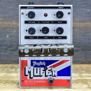 ELECTRO-HARMONIX ENGLISH MUFF'N VACUUM TUBE OVERDRIVE W / ADAPTER