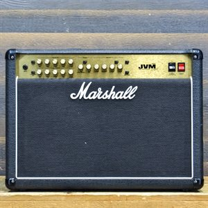 MARSHALL JVM210C 100-WATT ALL-VALVE 2X12 AVEC FOOTSWITCH #M-2008-01-0698-2