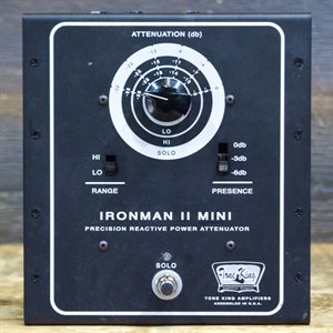 TONE KING IRONMAN II MINI PRECISION REACTIVE POWER ATTENUATOR FOR 30-WATT 8-OHM