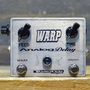 TOASTED PROJECT WARP ANALOG DELAY HANDMADE BY PIC