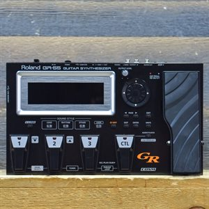 ROLAND GR-55 GUITAR SYNTHESIZER COSM GUITAR / AMP MODELING MULTI-EFFECTS PEDAL W / ADAPTER #Z4H5892