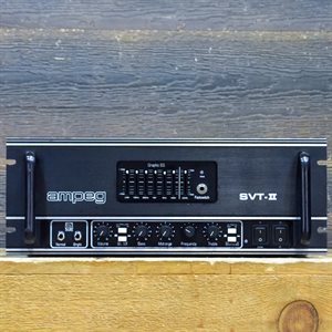 AMPEG SVT-II BASS AMPLIFIER 300-WATT ALL-TUBE #TN2DD60019