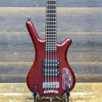 WARWICK ROCKBASS CORVETTE $$ 5-STRING BURGUNDY RED TRANSPARENT SATIN RB-G-534216-14