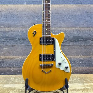 DUESENBERG 49ER ARCHED TOP SOLIDBODY DUAL PICKUP HONEY ELECTRIC GUITAR AVEC ÉTUI RIGIDE #173365