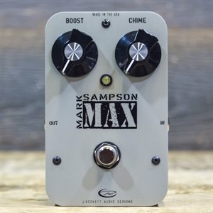 J. ROCKETT AUDIO DESIGNS MAX MARK SAMPSON BUFFER / BOOSTER W / BOX
