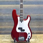 LAKLAND SKYLINE 44-64 CUSTOM CANDY APPLE RED 4-STRING #180918664