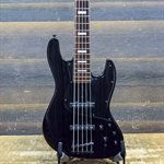 BACCHUS STD-JB ASH5 CRAFT SERIES BLACK SATIN 5-STRING AVEC ÉTUI RIGIDE #C10268