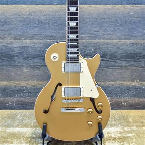 GIBSON ES-LES PAUL VOS SEMI-HOLLOW GOLD TOP 2014 W / CASE #12324726