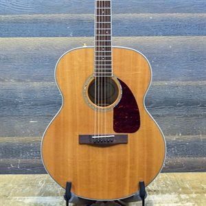 FENDER CJ-290S JUMBO FLAME MAPLE SPRUCE TOP NATURAL #CC121005164