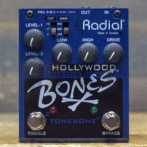 RADIAL BONES HOLLYWOOD DISTORTION AVEC BOITE