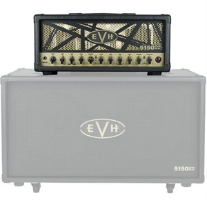 EVH 5150 III 50W EL34 HEAD BLACK & GOLD 2253060000