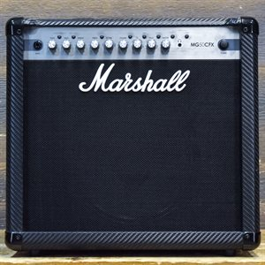 MARSHALL MG50CFX MG CARBON FIBRE 50-WATT 1X12 AVEC FOOTSWITCH #V0108A47DC