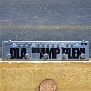 TECH 21 FLY RIG 5 DLA  /  SANSAMP REVERB / PLEXI W / BOX #612296