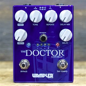 WAMPLER PEDALS THE DOCTOR LO-FI DELAY MAXIMUM 800MS DELAY AVEC BOITE #1341708401