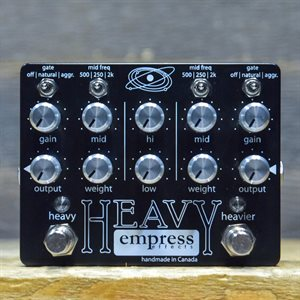 EMPRESS EFFECTS HEAVY ALL ANALOG SUPER HIGH GAIN DISTORTION #0410