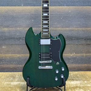 DEARMOND S-73 DOUBLE CUTAWAY SEYMOUR DUNCAN BRIDGE PICKUP GREEN W / BAG #KC01075566