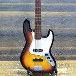 FENDER STANDARD JAZZ BASS FRETLESS BROWN SUNBURST AVEC ÉTUI SOUPLE #MZ7087980