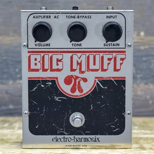 ELECTRO-HARMONIX BIG MUFF PI V5 OP-AMP TONE-BYPASS FUZZ #EH1322