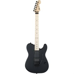 CHARVEL USA SELECT SAN DIMAS STYLE 2 HH FR, MAPLE FINGERBOARD, PITCH BLACK