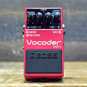 BOSS VO-1 VOCODER WITH EFFECT LOOP 4-MODE EASY-TO-USE VOCODER AVEC BOITE #Z2G1519