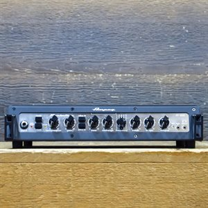 AMPEG PF-500 PORTAFLEX SERIES 500-WATT CLASS D MOSFET PREAMP BASS AMPLIFIER HEAD #PF500CPKA0039