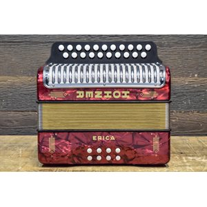 HOHNER 1600 / 2 ERICA GC HT RED