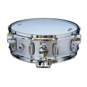 ROGERS DYNA-SONIC 32-SS REISSUE 5X14 SILVER SPARKLE SNARE DRUM