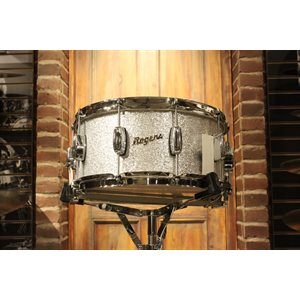 ROGERS DYNA-SONIC 33-SS REISSUE 6.5X14 SILVER SPARKLE SNARE DRUM