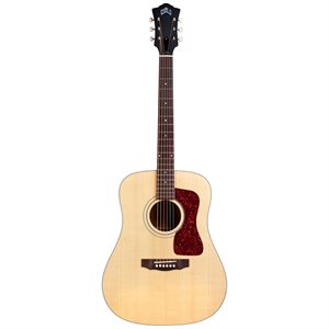 GUILD USA D-40 NATURAL W / LR BAGGS 385-0404-821