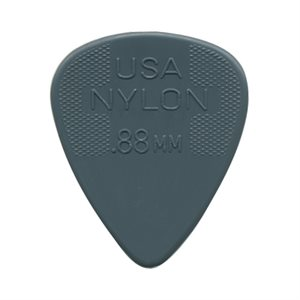 DUNLOP NYLON STD .88MM PAQ DE 72