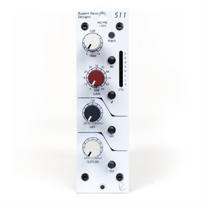 RUPERT NEVE DESIGN 511 MIC PRE W / SWEEP HPF AND VAR. SILK