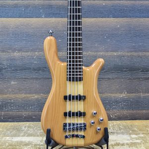 WARWICK ROCKBASS STREAMER NT I 5-STRING NATURAL TRANSPARENT HIGH POLISH #RB-L-522115-12