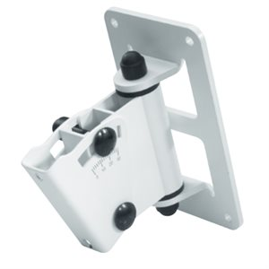 GENELEC 8000-402W AJUSTABLE WALL MOUNT T-PLATE FITS 8000 SERIES, WHITE
