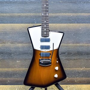 ERNIE BALL MUSIC MAN ST. VINCENT HHH TREMOLO TOBACCO BURST AVEC ÉTUI RIGIDE #G84243