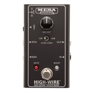 MESA BOOGIE HIGH-WIRE DUAL BUFFER & BOOST