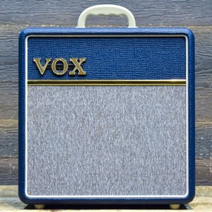 VOX AC4C1-BL LIMITED EDITION BLUE 4-WATT ALL-TUBE 1X10 #R03-013372!